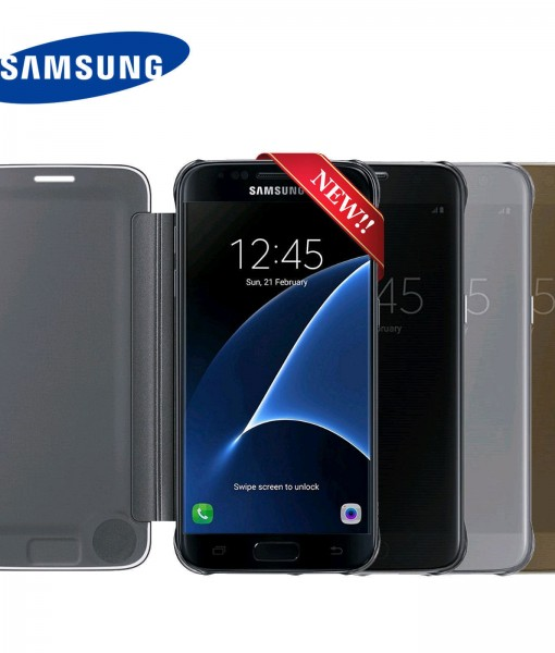 New-Samsung-Clear-View-Cover-for-Samsung-Galaxy-S7-edge-EF-ZG935C-USA-Seller-272175193721